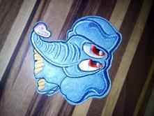 Nažehlovačka slon,