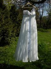 Spoločenské / svadobné šaty, 38