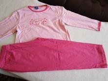 Pěkné růžové bavl. pyžámko, vel. 116, 116