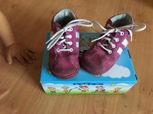 Kožené boty pegres, pegres,21