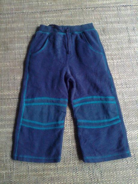 Flísové kalhoty-tepláky vel 86-92, mini mode,92