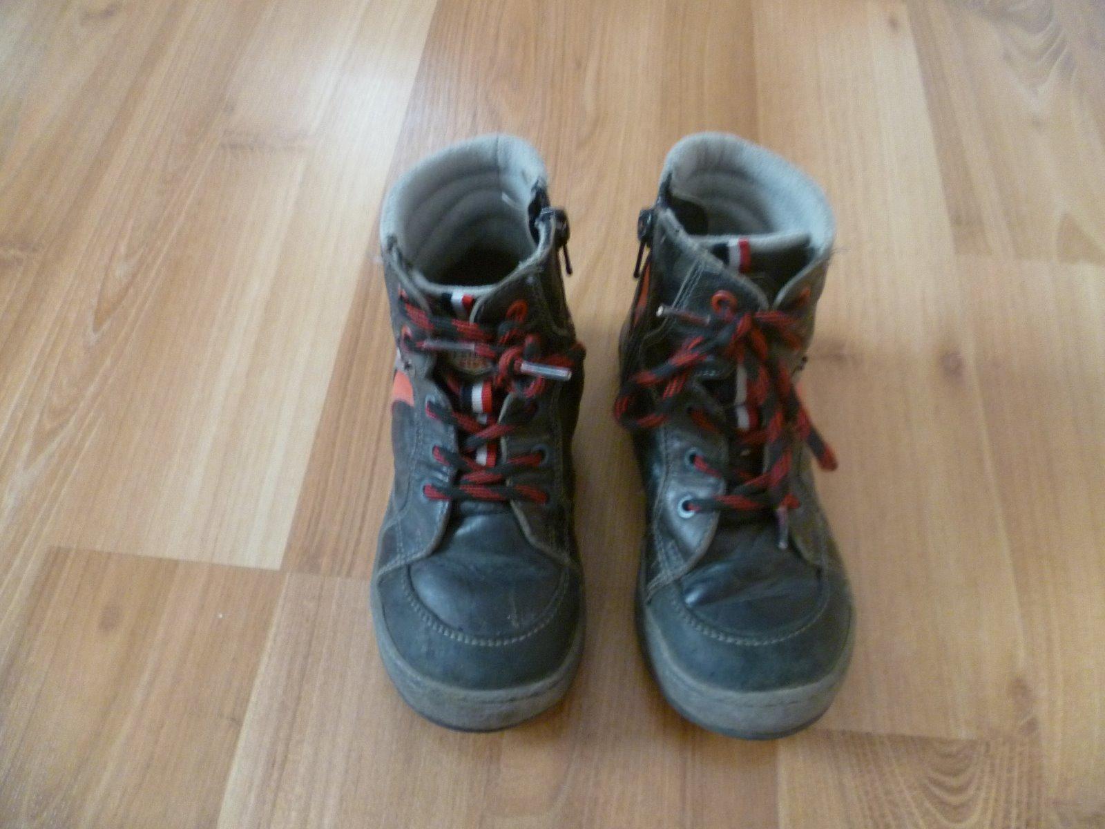 Kotníčkové kožené boty lasocki 9496321495