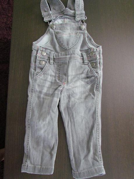 Dívčí džíny s laclem v. 80, 80