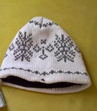 Dívčí zimní čepice, věk 8-13 let, tcm,56