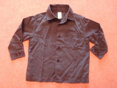 Košile s dlouhým rukávem, vel. 92, adams,92