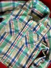 Košile s roll up rukávy, early days,92