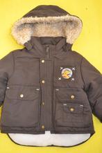 Zimní bunda s medvídkem disney na 2-6měs., c&a,68