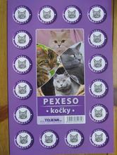 Pexeso - kočky,