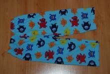 Pyžamové kalhoty nebo tepláky s příšerkama, primark,98