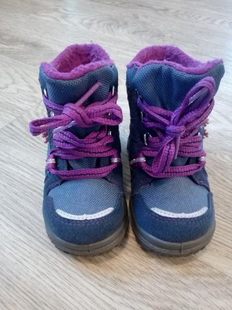 93c04b89b11 Holčičí zimní boty superfit s goretexem