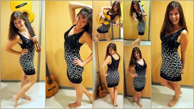 Některé šaty si přímo říkají o rekvizity! :)