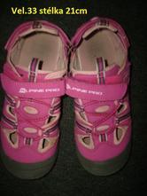 Letní botasky zn.alpine pro, 33