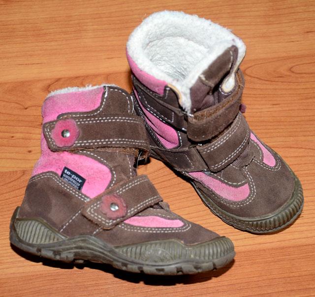 Zimní boty s membránou c48e062ad9