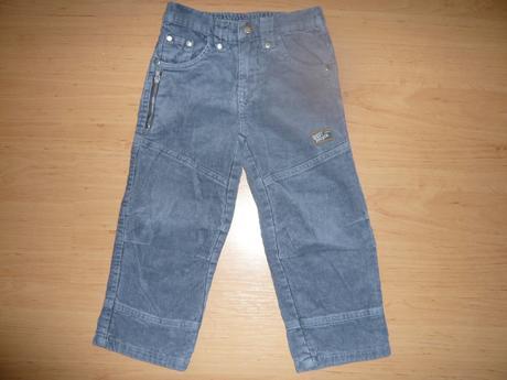 Manžestrové kalhoty - podšité, 98