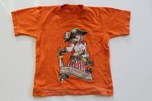 Oranžové tričko pirát, 98