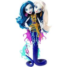 Monster high great scarrier peri&pearl serpentine,
