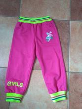 Růžové dívčí tepláky vel.92, good children,92