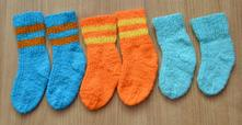 B1 pletené ponožky 3 páry, 20