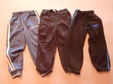 3x teplejší kalhoty, vel. 98, adidas,98