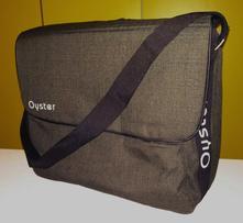 Nová přebalovací taška oyster olive green, babystyle