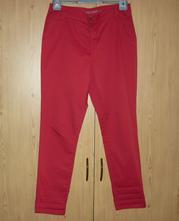Červené dámské chino kalhoty c&a, c&a,38