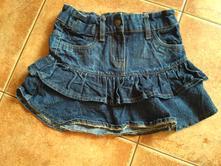 Riflová sukně, sukýnka, palomino,116