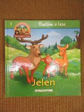 D398     kniha jelen, bydlím v lese,