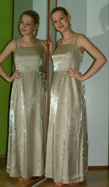 Společenské plesové dlouhé šaty, 40