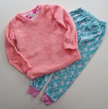 Flísové pyžamko, primark,128