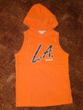 Oranžové tričko, tom tailor,m