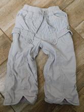 Plátěné kalhoty s podšívkou, next,92