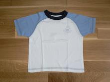 Bílo-modré tričko s žabičkou, george,86