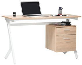 psací stoly, rovnou pro oba - vzdušné, půjde přes ně teplo od radiátoru a jsou kvalitně fóliované, tak snad nějakou dobu vydrží