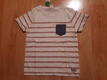 Triko s džínovou kapsičkou lindex, velikost 98/104, lindex,98 / 104