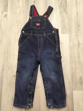 Zateplené kalhoty, lacláče, 98