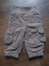 Hnědé teplejší kalhoty, dopodopo,62