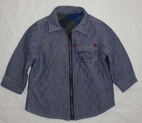 Oboustranná podzimní/ jarní bunda vel. 12m, 80