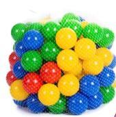 Plastové míčky 100 ks.,