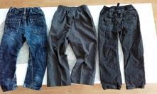 3x kalhoty, george,98