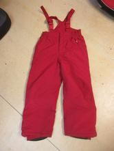 1240b/20     oteplovačky, lyžařské kalhoty 140, 140
