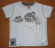 Triko vel. 110, zn. next se slony, next,110