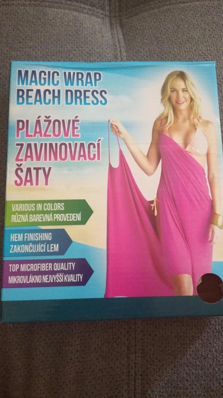 Zavinovací šaty na plavky,