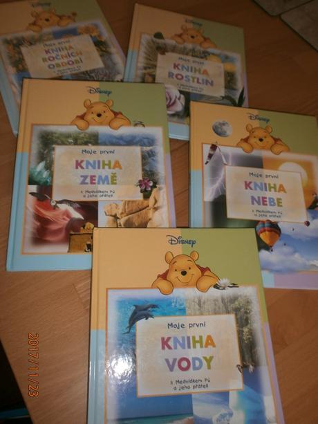 Sada 5 knih, pro male ctenare,