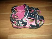 Sandálky dívčí s jahůdkami, vel. 27, 27