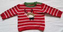 C26elegantní vánoční svetr sob, marks & spencer,74
