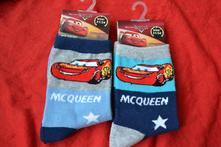 2x ponožky cars disney, disney,23 - 34