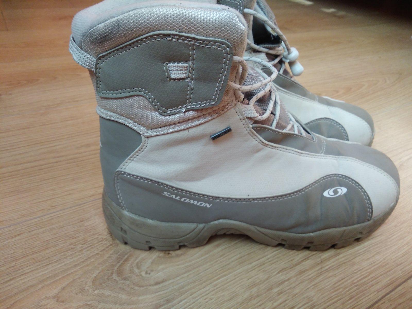 Salomon gore-tex zimní boty 2044022276