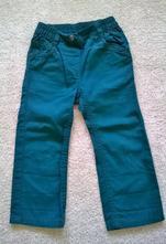 Plátěné lahvové kalhoty vel. 86, lupilu - holčičí, lupilu,98