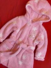 Chlupatkový župánek s hvězdičkami, disney,68