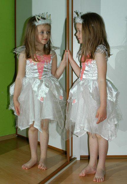 Karnevalové šaty sněhová víla, anděl,